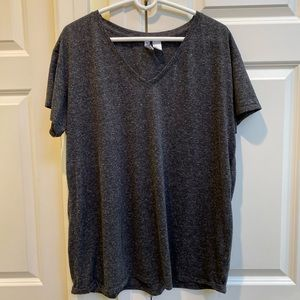 H&M Basic Grey Tshirt
